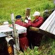 木道の補修